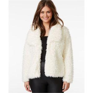 NWOT Jou Jou Plus Size Faux-Fur Jacket